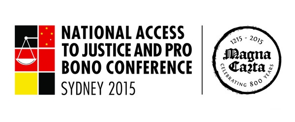 National Access to Justice and Pro Bono Conference 2015