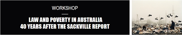 40 Years After the Sackville Report - Workshop
