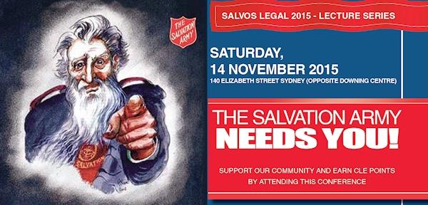 Salvos Legal Lecture Series