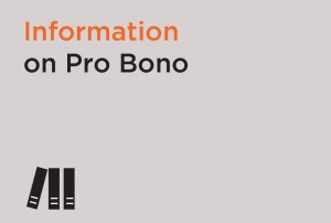 Information on Pro Bono