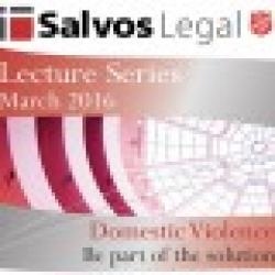 Salvos Legal Lecture Se4ries March 2016